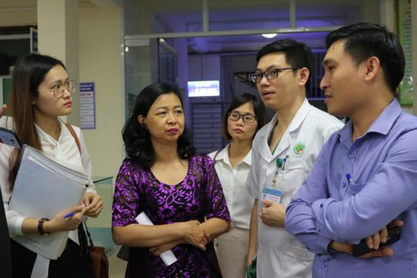 Đoàn đại biểu bệnh viện đa khoa quốc tế Hải Phòng thăm quan bệnh viện đa khoa thành phố Vinh