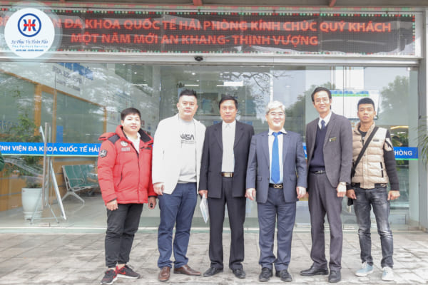 Đoàn lãnh đạo thành phố Daegu, công ty Viet-interkorea thăm quan Bệnh viện đa khoa quốc tế Hải Phòng