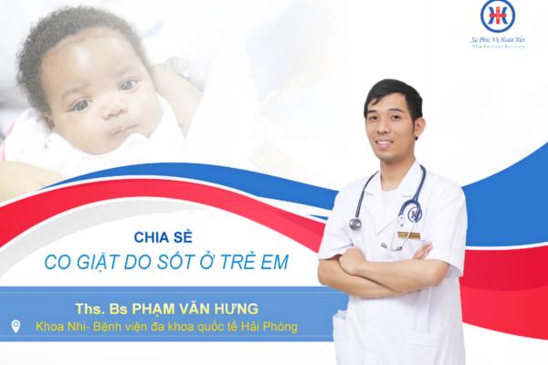 Co giật do sốt ở trẻ em