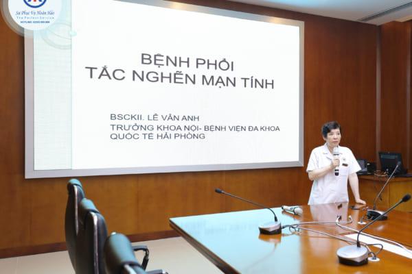 CLB Hen phế quản và COPD sinh hoạt quý I năm 2019