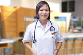 Bác sĩ Lê Thị Thanh Huyền