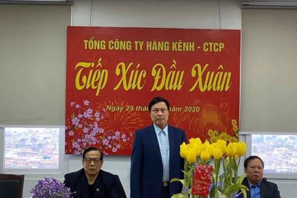 Họp tiếp xúc đầu Xuân Tổng Công ty Hàng Kênh – CTCP
