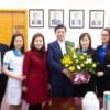 Tặng hoa chúc mừng Đảng ủy Tổng Công ty nhân kỷ niệm 90 năm Ngày thành lập Đảng cộng sản Việt Nam ( 3/2/1930 – 3/2/2020)