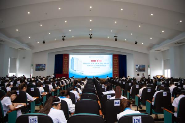 Hội thi điều dưỡng, nữ hộ sinh, kỹ thuật viên giỏi ngành y tế Hải Phòng năm 2020 – Vòng thi cấp cơ sở