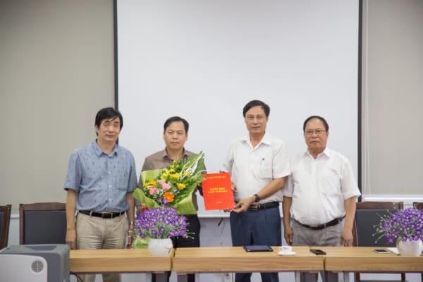 Lễ công bố và trao quyết định bổ nhiệm chức danh Phó Giám đốc Bệnh viện đa khoa Quốc tế Hải Phòng – Vĩnh Bảo