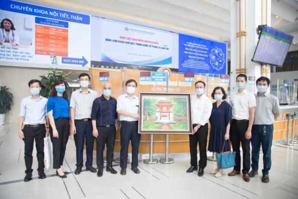 Bệnh viện Răng hàm mặt Trung ương Hà Nội đến tham quan mô hình Bệnh án điện tử của Bệnh viện đa khoa Quốc tế Hải Phòng