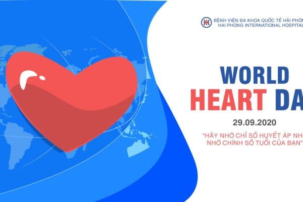 Ngày Tim mạch Thế giới: Hãy nhớ số huyết áp như nhớ chính số tuổi của bạn