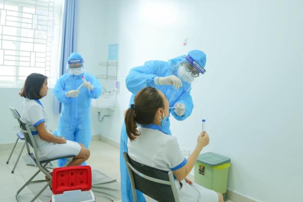 """Bệnh viện đa khoa Quốc tế Hải Phòng: Bệnh viện an toàn – """"pháo đài"""" vững chắc trong phòng chống dịch Covid-19"""