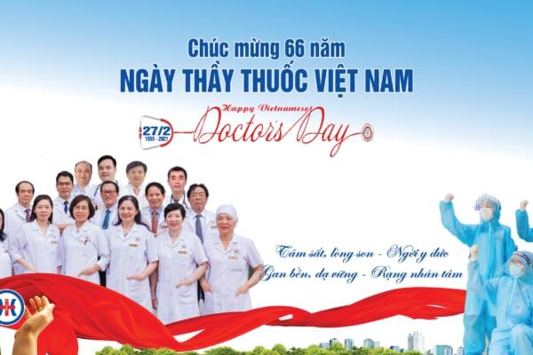 """66 năm Ngày Thầy thuốc Việt Nam: Gửi lời tri ân tới những """"chiến sĩ"""" áo trắng"""