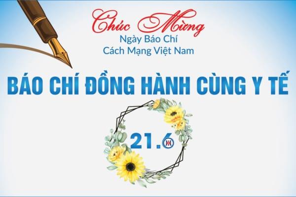 Chúc mừng Ngày Báo chí cách mạng Việt Nam (21/6)