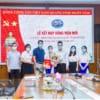 Lễ kết nạp Đảng viên mới Chi bộ 1,  Đảng bộ Bệnh viện đa khoa Quốc tế Hải Phòng